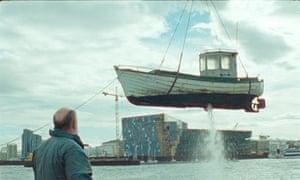 Film still from Volcano (2011), directed by Rúnar Rúnarsson