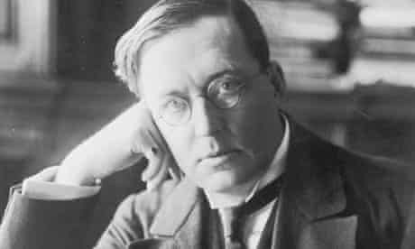 MR James (Montague Rhodes James), ghost story writer and academic