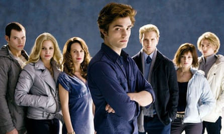 Robert Pattinson and other sparkling vampires from Twilight