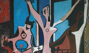 Three Dancers by Picasso