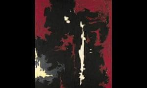 Clyfford Still's painting 1949-A-No 1