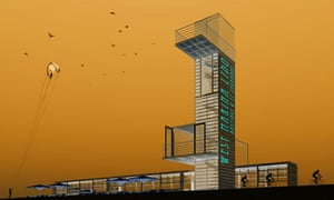 St Leonard's-on-sea Lido, proposed design by Quixotic Architects