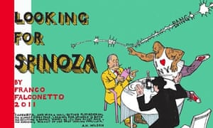 Front cover of the comic Looking for Spinoza by Franco Falconetto