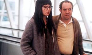 Reality bites … Hope Davis and Paul Giamatti in American Splendor (2003).