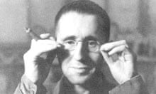 Bertolt Brecht, photographed in 1931, referred to his rehearsals as 'chaos, according to plan'.