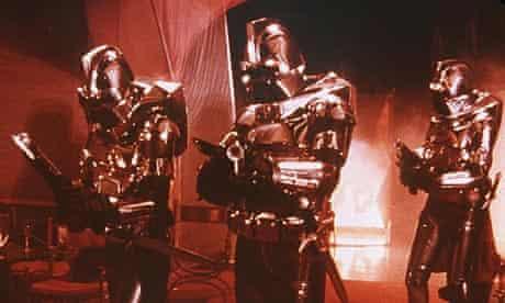 The Cylons in the original Battlestar Galactica.