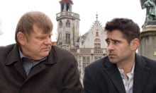 my favourite film in bruges film the guardian brendan gleeson and colin farrell in in bruges 2008