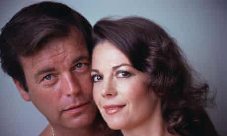 Natalie Wood with her husband, Robert Wagner, in 1978.