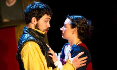 Pippa Nixon and Alex Hassell in the RSC's Cardenio at the Swan theatre