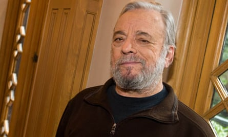 Composer and lyricist Stephen Sondheim