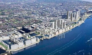 Artist impression of Peel Holding's Liverpool Waters scheme