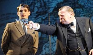 Three Days in May - Warren Clarke as Churchill with James Alper as Jock Colville