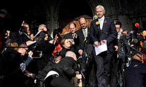 Julian Assange loses extradition appeal in November 2011