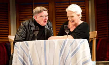 Sharon Gless and Barry McCarthy in A Round-Heeled Woman at the Aldwych, London.