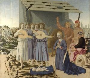 Piero della Francesca, The Nativity (1470-75)