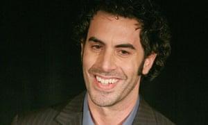 Comedian Sacha Baron Cohen