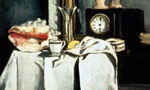 Cézanne's La Pendule Noire (1869-71)