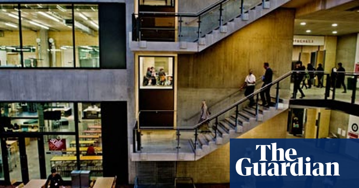 Central Saint Martins Inside The Art Factory Architecture The Guardian