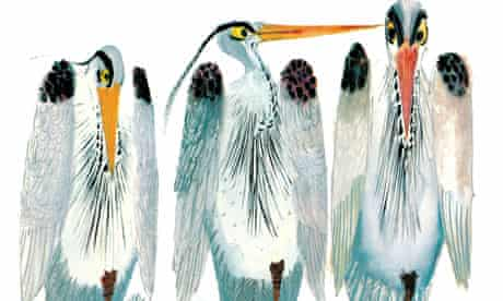 An illustration from Brian Wildsmith's Animal Gallery