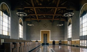 Inside Union Station, Los Angeles