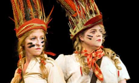 Costume drama … Swallows and Amazons at the Vaudeville, London