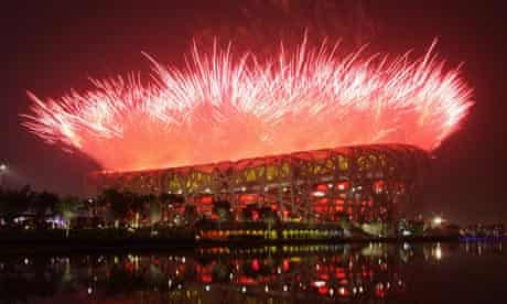 the opening ceremony for the Beijing 2008 Olympic Games