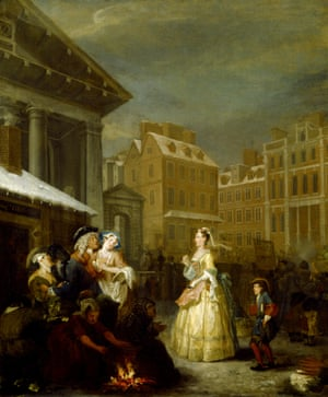 The Four Times of Day: Morning by William Hogarth (1697-1764)