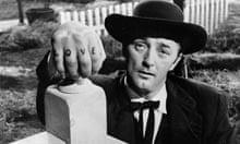 Robert Mitchum in The Night of the Hunter (1955)