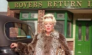 Julie Goodyear as Bet Lynch in Coronation Street