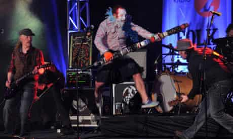 The Levellers at the 2011 Radio 2 Folk awards
