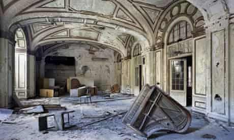 Ballroom, Lee Plaza Hotel, from Yves Marchand and Romain Meffre's The Ruins of Detroit.