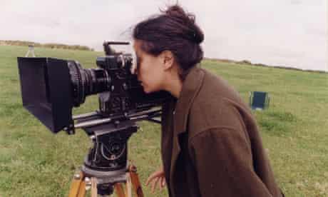 Tacita Dean behind the camera