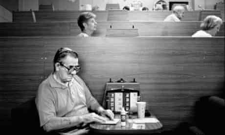 A man playing bingo by Michael Hess
