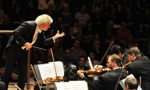 Simon Rattle with the Berlin Philharmonic, London 2011