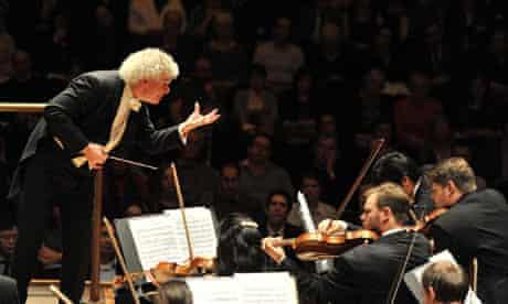 Simon Rattle with the Berlin Philharmonic, London 2011