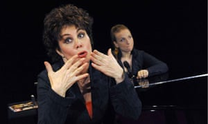 Ruby Wax-Losing It. Ruby Wax one woman show at the Menier Chocolate Factory