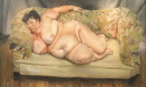 Benefits Supervisor Sleeping by Lucien Freud