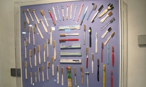 Hertford's 6,000-strong collection of toothbrushes