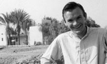 Terry Ball in Palestine in the 1960s