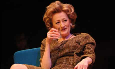 Sian Thomas as Martha in Who's Afraid of Virginia Woolf at the Crucible Theatre