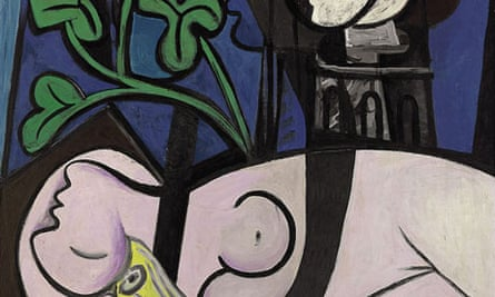 Picasso's Nude, Green Leaves, and Bust