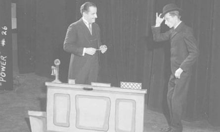 Scene from the play Power: A Living Newspaper