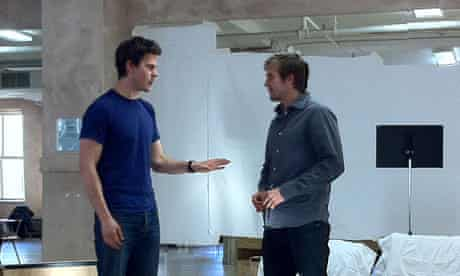 Rehearsals for Christopher Shinn's Picked at the Vineyard Theatre, New York