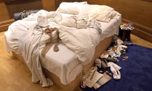 Stocking filler? ... Tracey Emin's My Bed – British art's apex of technical uninvolvement.