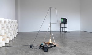 ross Section  of a Revolution, 2011, by Haroon Mirza