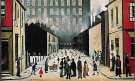 Street Scene, 1935, by LS Lowry