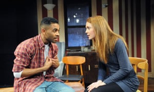 Anthony Welsh and Olivia Hallinan in Precious Little Talent