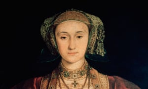 Detail of Anne of Cleves by Hans Holbein