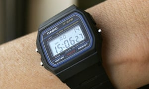 A time to kill ... the Casio F-91W, al-Qaida's preferred choice of wristwatch.