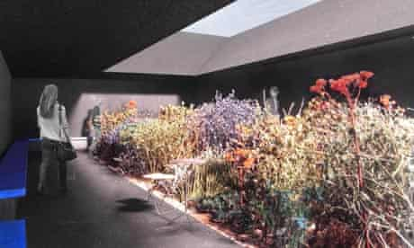 Peter Zumthor's design for the Serpentine Gallery pavilion